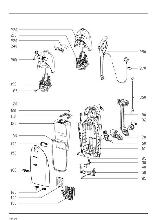 miele vacuum repair parts list