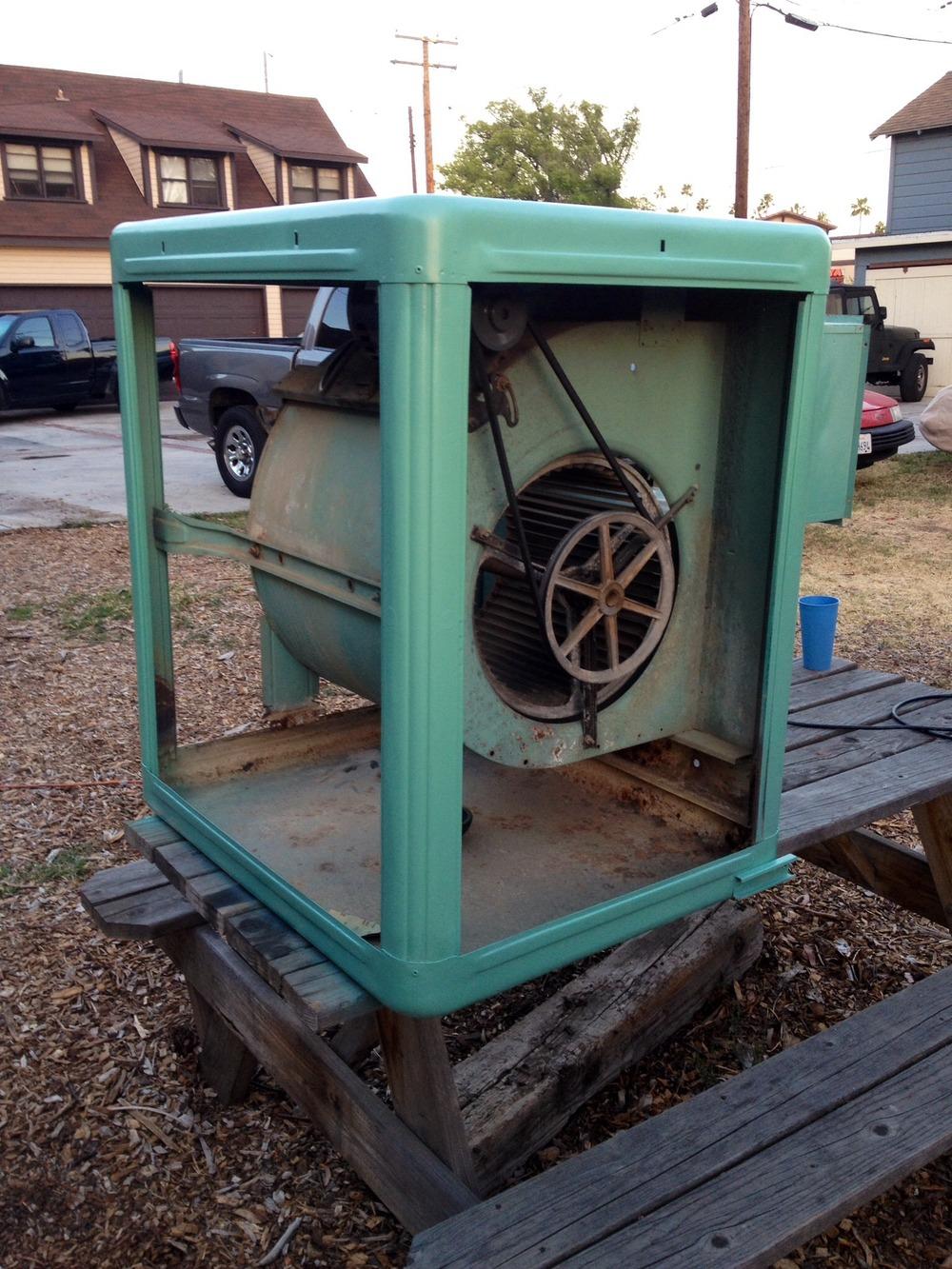 Vintage Evaporative Cooler : Swamp coolers