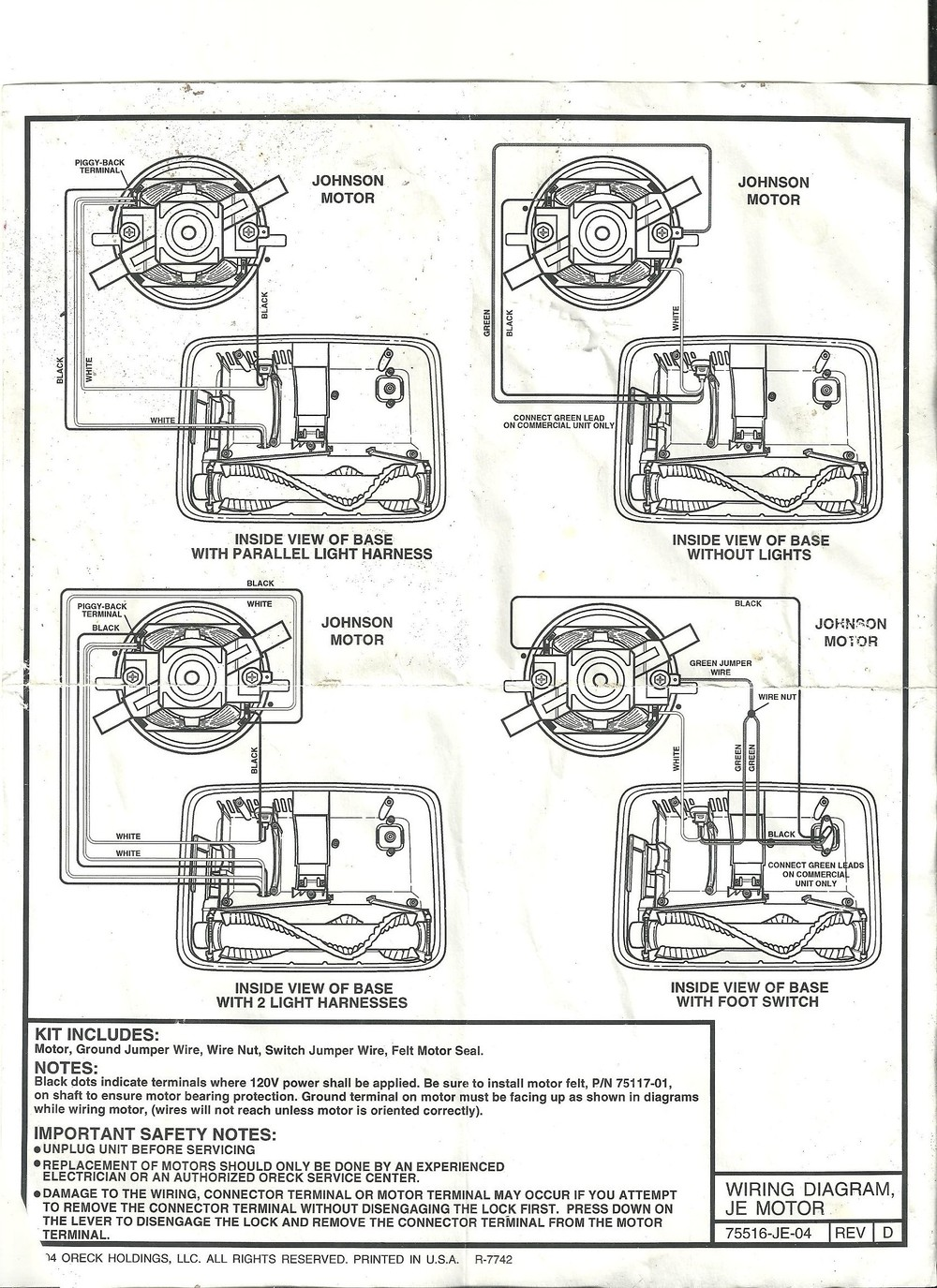 super sweeper++7 28 2014 19 03 49 help me!!! oreck xl2 motor wireing oreck vacuum motor wiring diagram at suagrazia.org