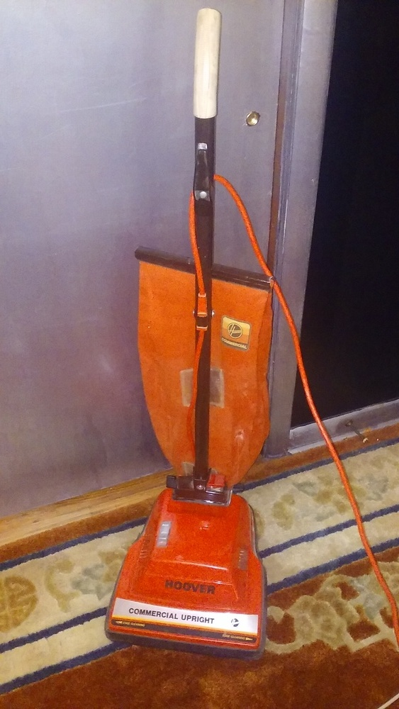 My New Hoover Commercial Upright