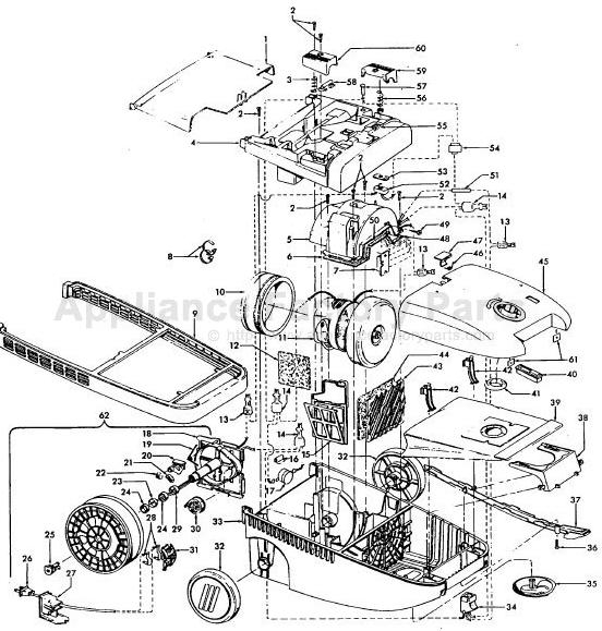hoover s3620 powermax ultra needs repair