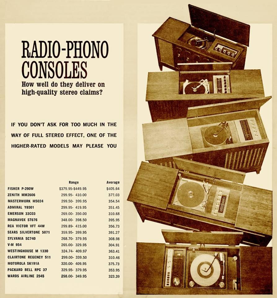 Magnavox Console Stereo