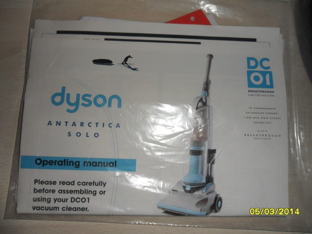 Just Bought A Dyson Dc01