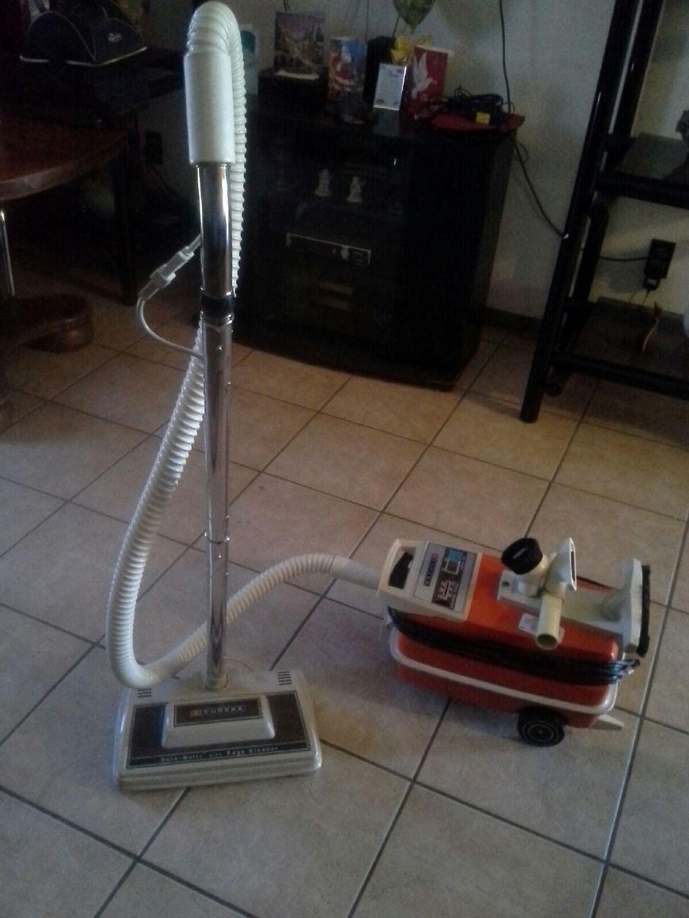 Vintage Eureka Canister Vacuum Cleaner Rotomatic 1261