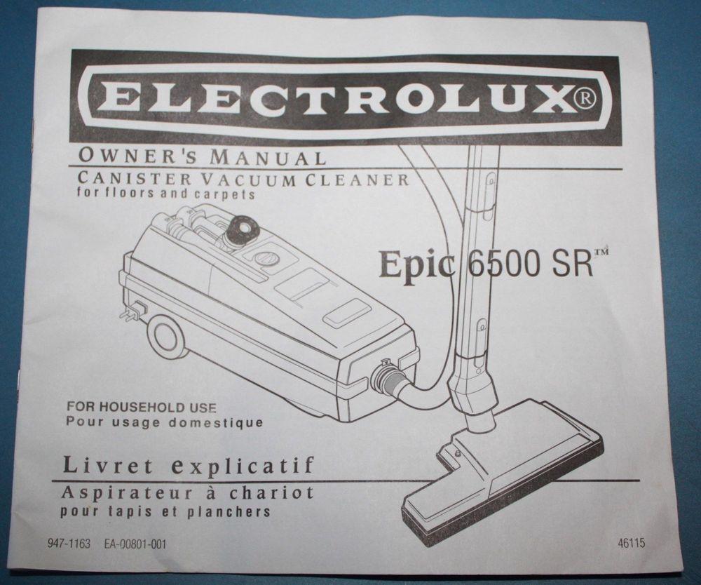 Electrolux Usa  Aerus Manual Cover Caboodle