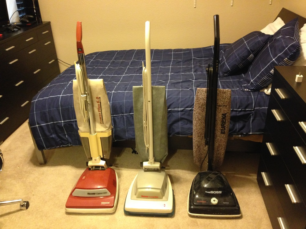 Current Upright Vacuum Collection