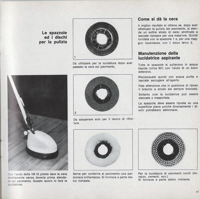 Si Stende Sul Desco.Vorwerk Leaflets And Manuals