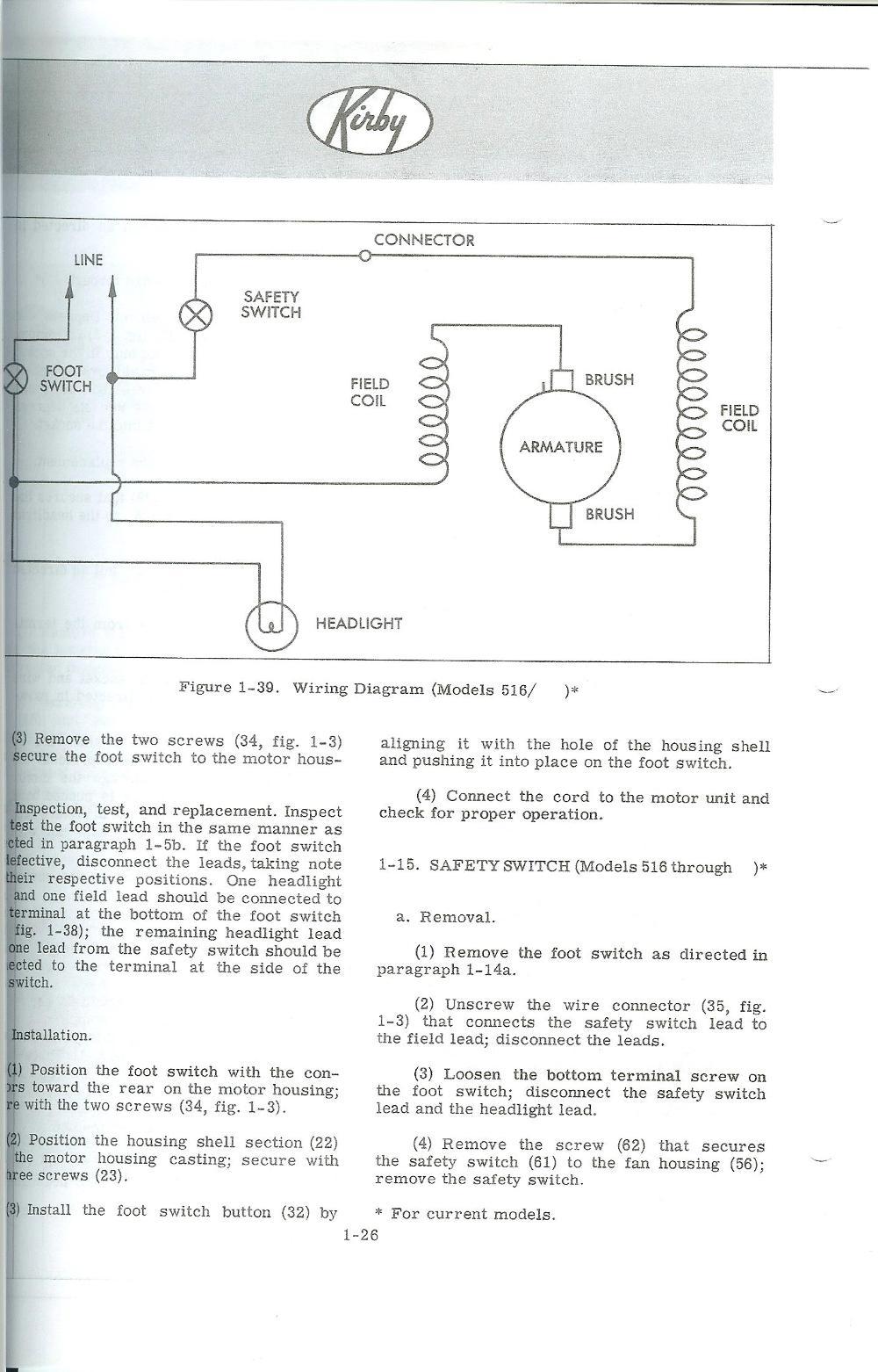 kirby 516 sanitronic vii wiring diagram. Black Bedroom Furniture Sets. Home Design Ideas